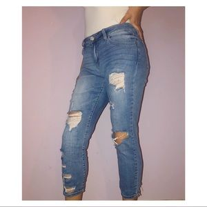 Charlotte Russe ripped jeans *worn once*